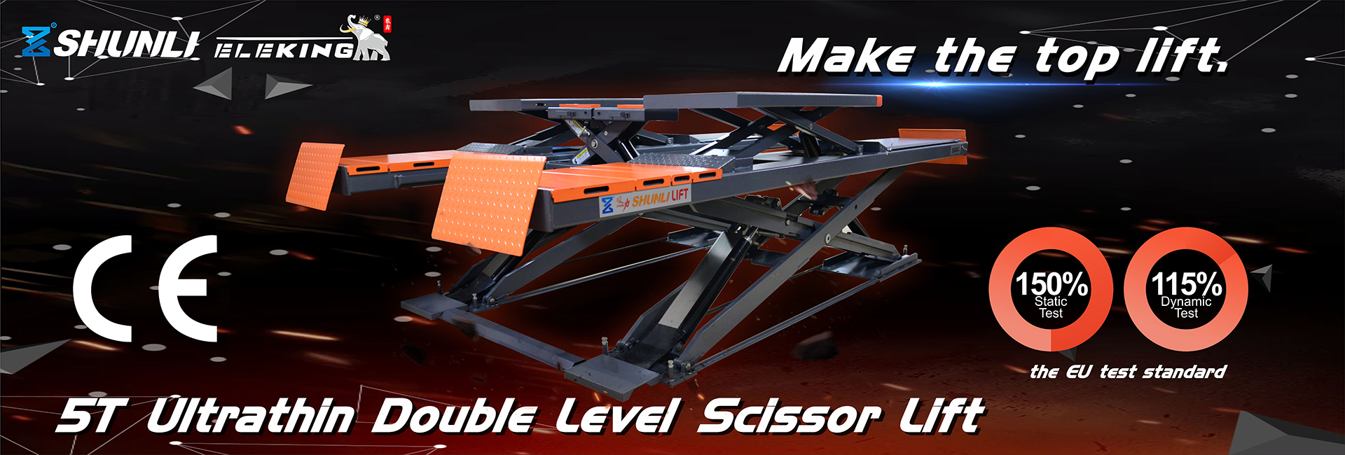 Scissor Lift Two Post Lift, 4 Post Lift, Auto-Service Equipment Supplier