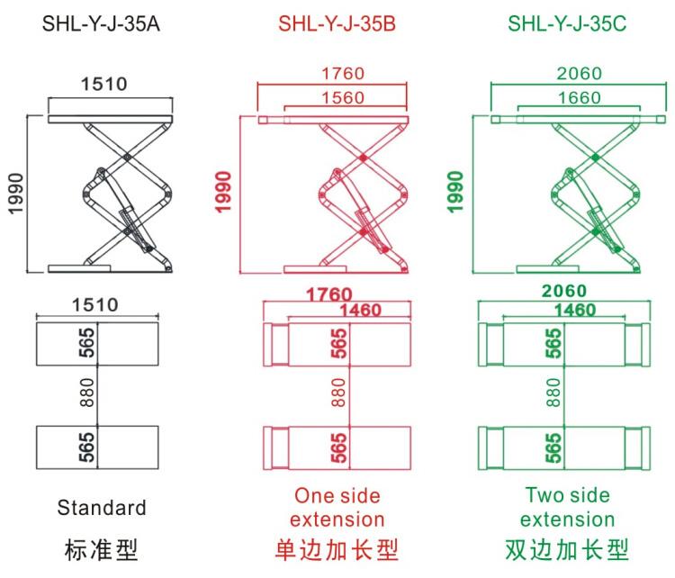 mechanical scissor lift design