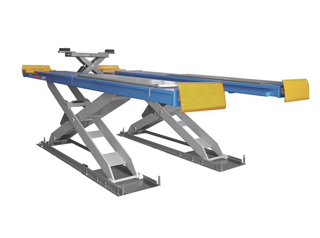 SHL-Y-J-40X Scissor Lift for Four Wheel Alignment (With Trolley)