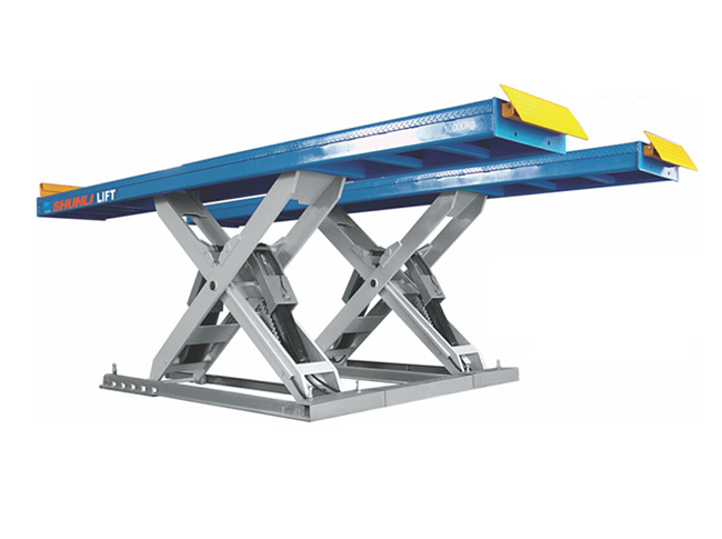 SHL-Y-J-10T Scissor Lift for Heavy Truck