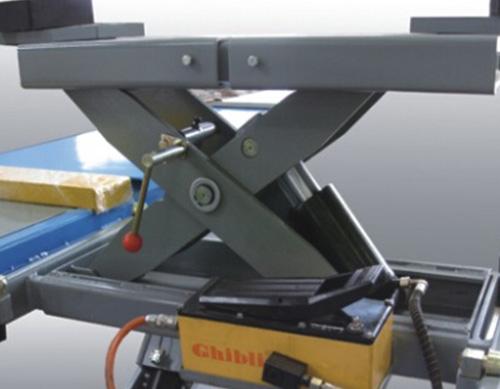 Optional lifting trolley