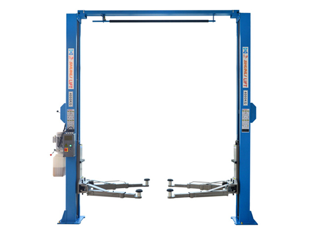 C240L Clear-floor Two Post Lift