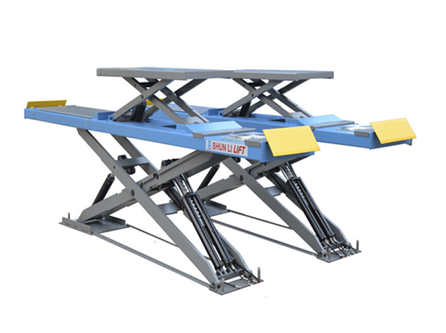 CD5040TCC Ultrathin Double Level Scissor Lift for Four Wheel Alignment