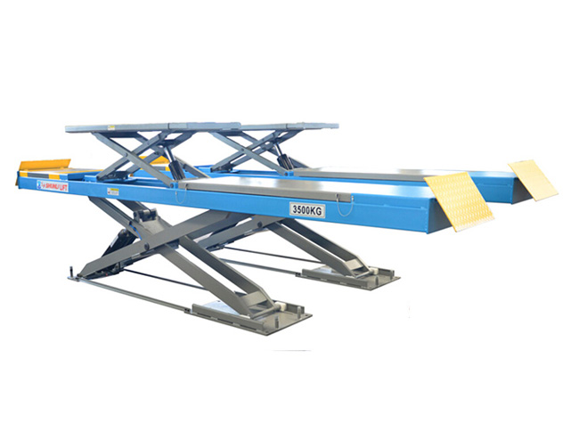CD3532TC Ultrathin Double Level Scissor Lift for Four Wheel Alignment
