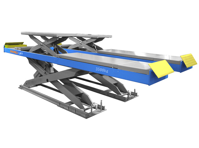 CD35T Double Level Scissor Lift for Four Wheel Alignment