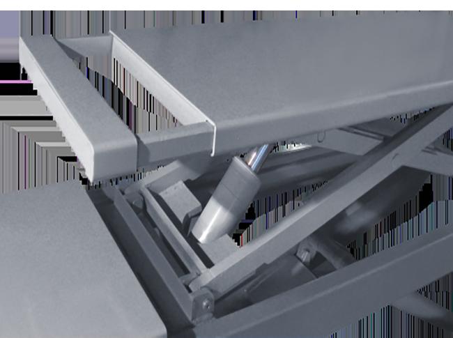 SHL-Y-J-35CBL on Ground  Wheel Alignment  Scissor Lift