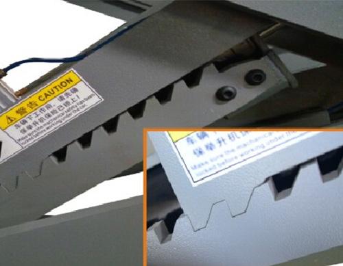 SHL-Y-J-35CCX Ultrathin Scissor Lift for Four Wheel Alignment(With Trolley)