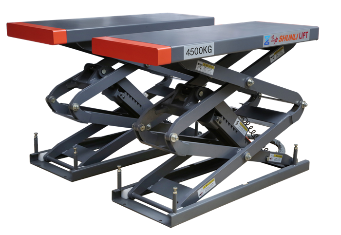 SHL-Y-J-45AS Small Platform Scissor Lift(Solid Plate Type)