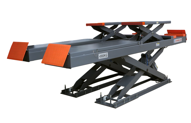 SHL-Y-J-45DL Double Level Scissor Lift for Four Wheel Alignment