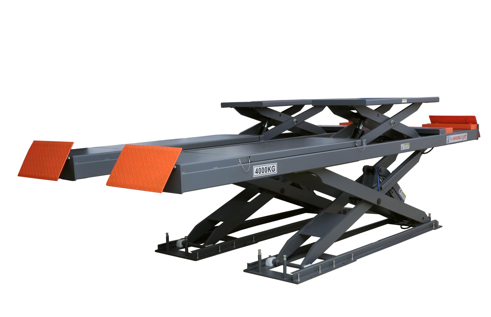 SHL-Y-J-40DL/42DL Double Level Scissor Lift for Four Wheel Alignment