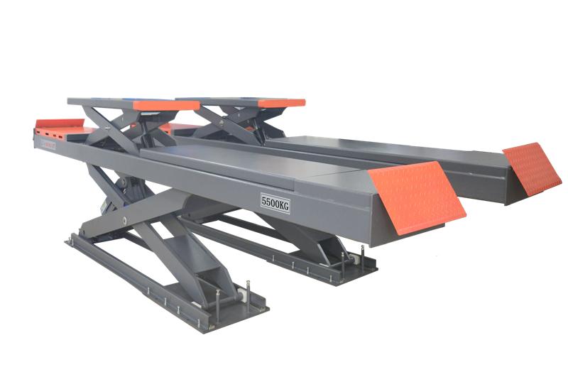 SHL-Y-J-55DL/65DL Double Level Scissor Lift for Four Wheel Alignment