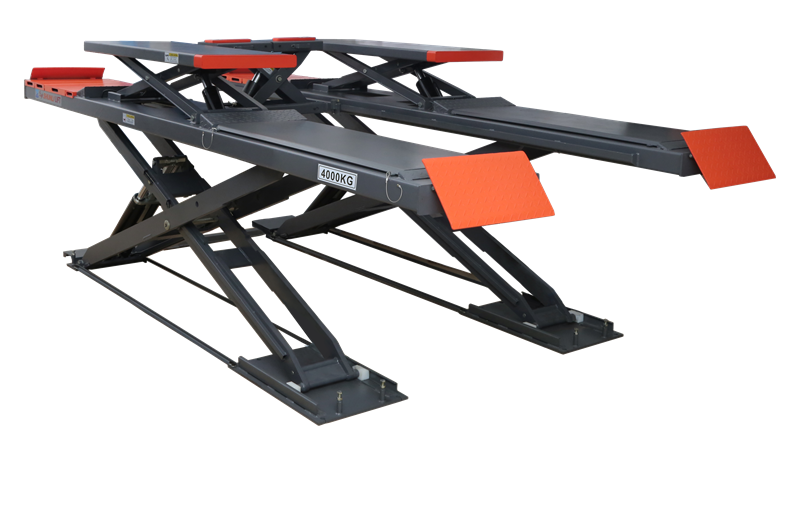 SHL-Y-J-40CCBL Ultrathin Double Level Scissor Lift for Four Wheel Alignment
