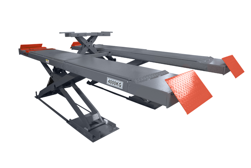 SHL-Y-J-40CCX/50CCX/55CCX Ultrathin Scissor Lift for Four Wheel Alignment(With Trolley)