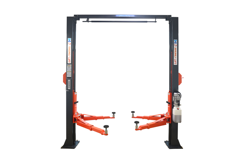 SHL-2-245L/250L Clear-floor Two Post Lift(Solid Plate Version)