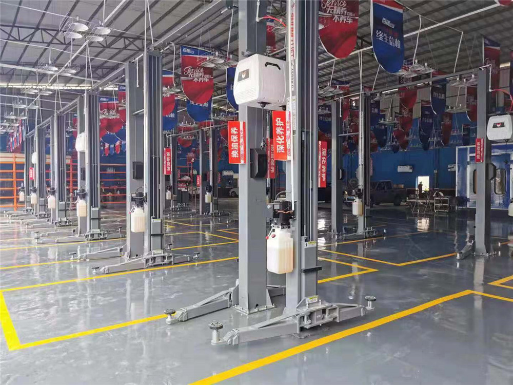 SHL-2-240A Clear-floor Two Post Lift